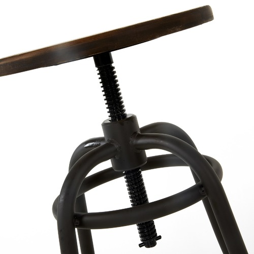 Linea Furniture Daeva Adjustable Metal Barstools