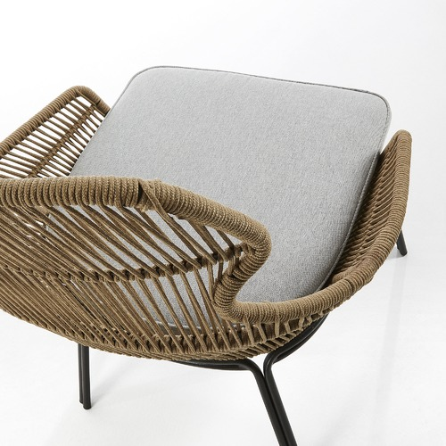 Linea Furniture Nathaniel Rope Outdoor Armchair