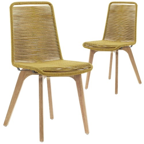 Linea Furniture Pedro Rope Outdoor Dining Chairs
