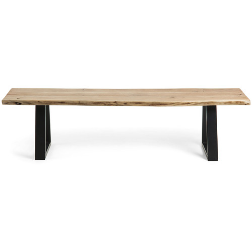 Linea Furniture Drava Acacia Wood & Metal Bench
