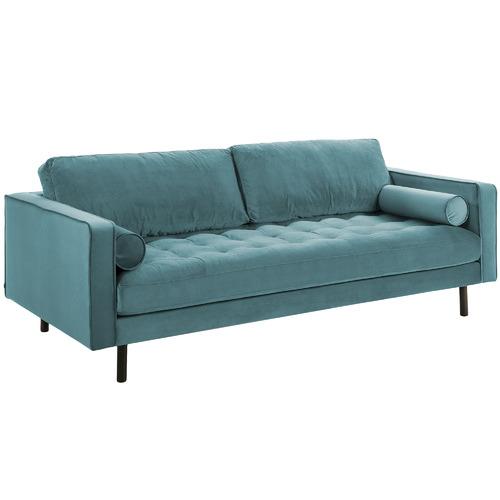 Linea Furniture Lincoln Velvet 3 Seater Sofa