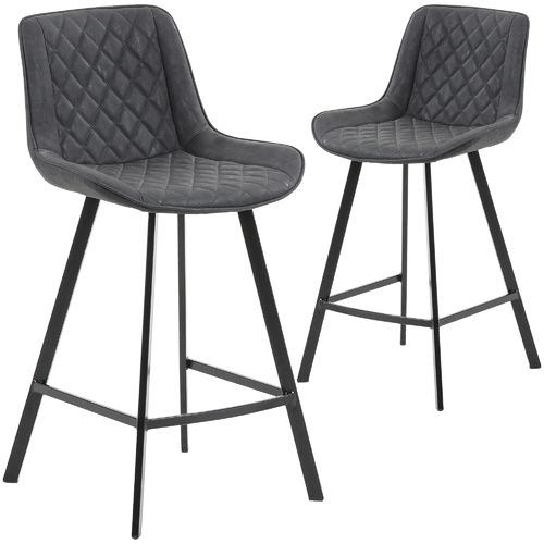 66cm Fonzo Faux Leather Barstools