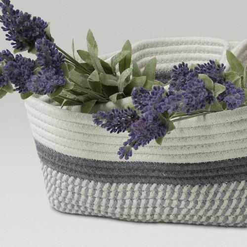 Linea Furniture 3 Piece Iris Cotton-Blend Basket Set