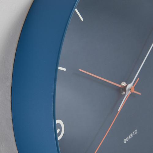 Linea Furniture Blue Armi Wall Clock