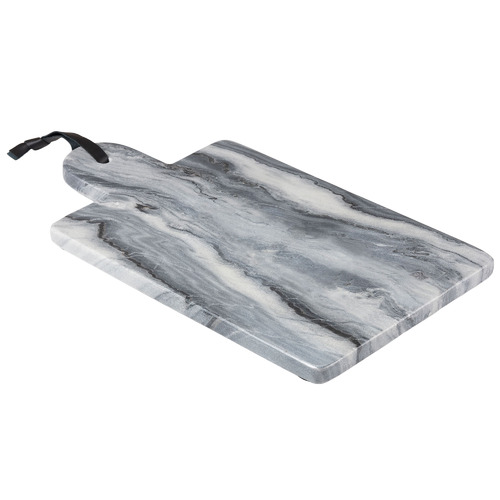 Linea Furniture Grey Samiya Marble Cutting Board