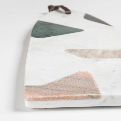 Linea Furniture Medium Samiya II Marble Cutting Board