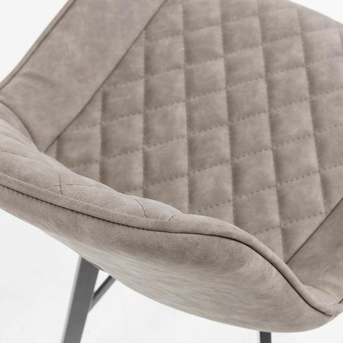Linea Furniture 66cm Fonzo Faux Leather Barstools