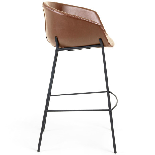 Linea Furniture 65cm Vanya Faux Leather Barstool
