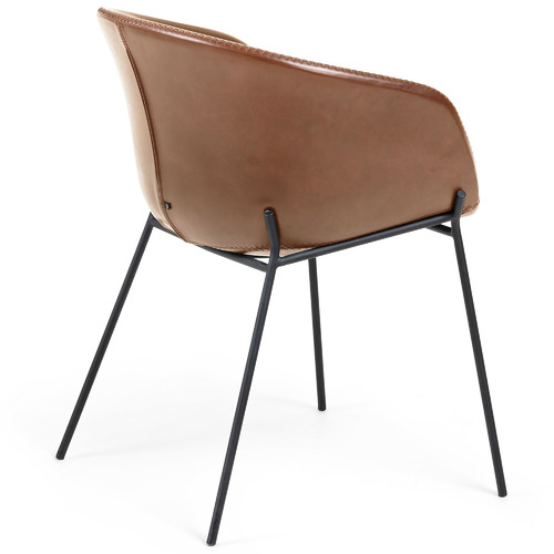 Linea Furniture Vanya Faux Leather Dining Chair