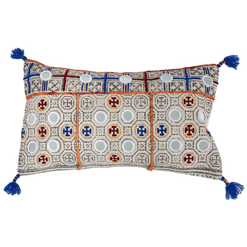 Linea Furniture Rina Cotton Rectangular Cushion