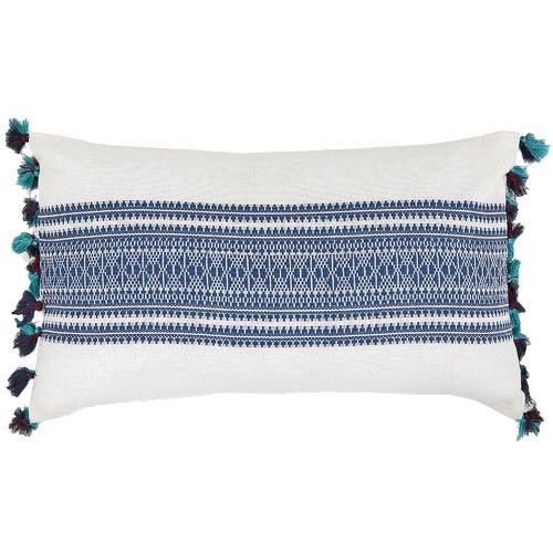 Linea Furniture Aminah Cotton Rectangular Cushion