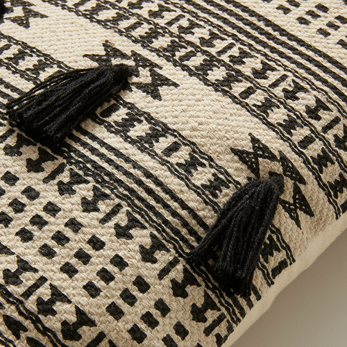 Linea Furniture Aztec Print Tara Cotton Cushion
