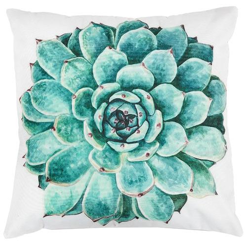 Linea Furniture Succulent Print Anichie Outdoor Cushion