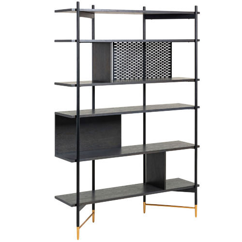 Linea Furniture Shelia 6 Tier Shelving Unit