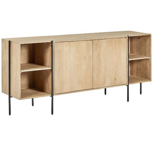 Linea Furniture Natural Maya Woden Sideboard