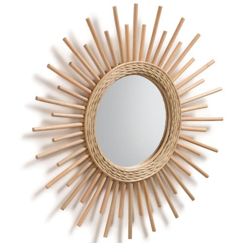 Linea Furniture Natural Jannicke Rattan Mirror