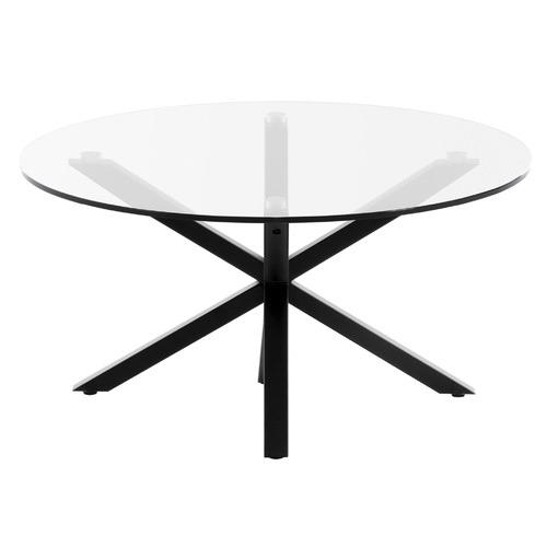 Liane Glass-Top Coffee Table