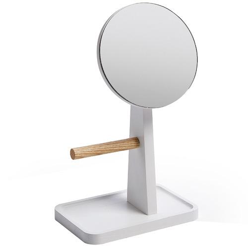 Linea Furniture White Stanislava Tabletop Mirror