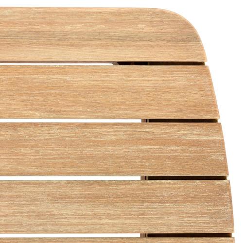 Light Timber Serina Eucalyptus Wood Dining Table