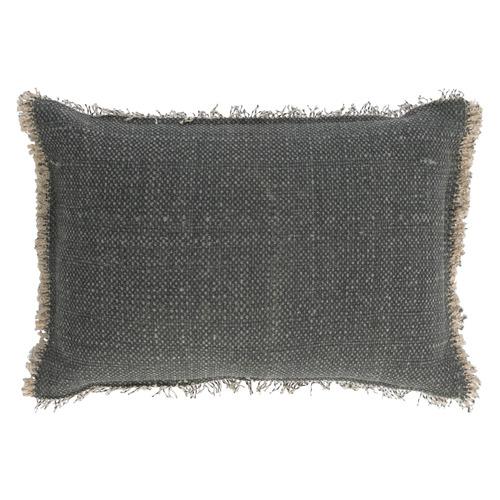 Grey Farrah Dark Grey Cushion