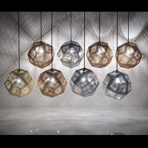 Observatory Lighting Replica Etch Web Pendant