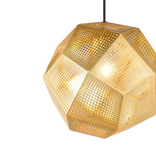 Observatory Lighting Replica Etch Shade Pendant