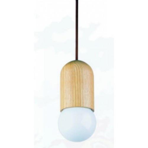 Observatory Lighting Replica Capsule Wood Pendant