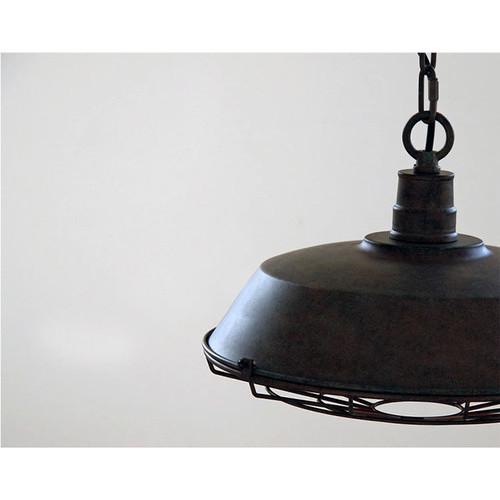 Observatory Lighting Vintage Wire Steel Pendant