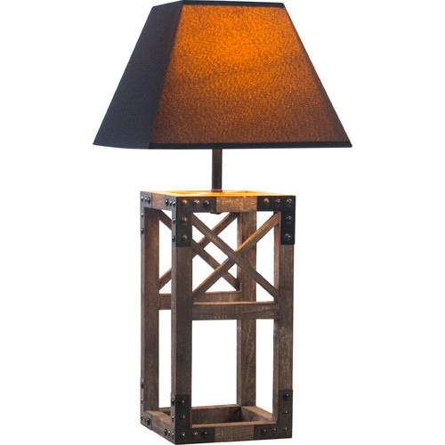 New Life Lighting Linares Square Table Lamp