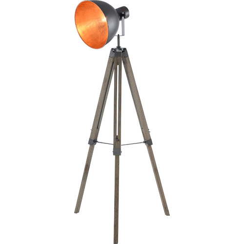 New Life Lighting Welker Large Tripod Floor Lamp