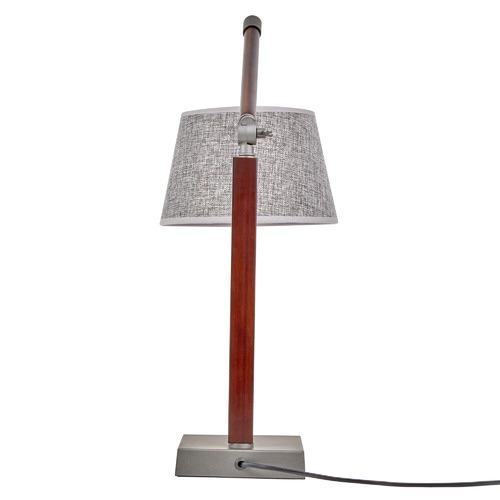 New Life Lighting Cherry Bamboo Table Lamp