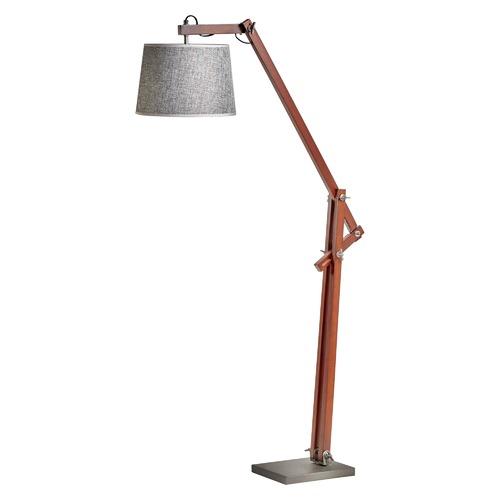 Cherry Bamboo Floor Lamp