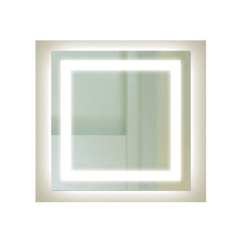 Thermogroup SQ Range Square Backlit Mirror with Border