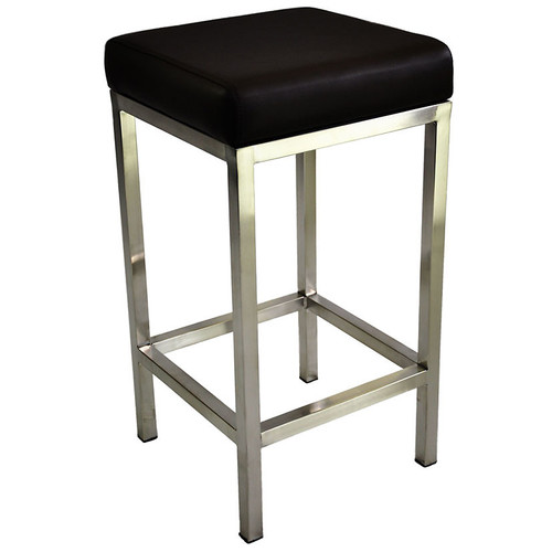 Stainless Steel Stools Kitchen: By Designs Quadro 65cm Stool With Stainless Steel Frame