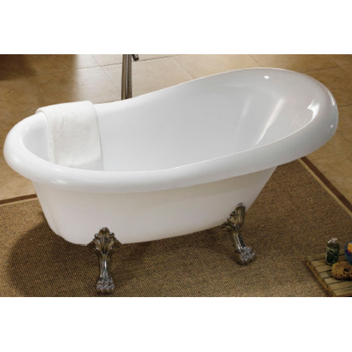 Lion claw foot 1700 bath tub temple webster for Claw foot soaker tub