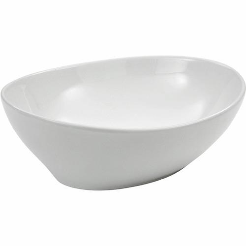 Kander White Paola Above Counter Ceramic Basin