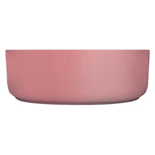 Kander Industrial Pink Reba Above Counter Ceramic Basin