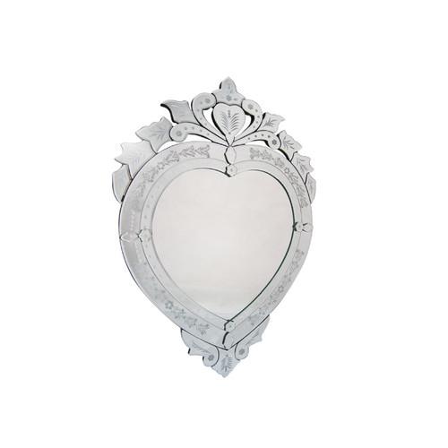 Elegant Designs Heart Mirror