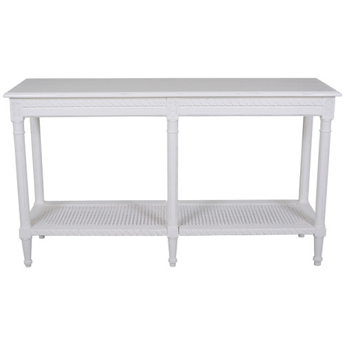 Elegant Designs Santa Maria Sofa Table White