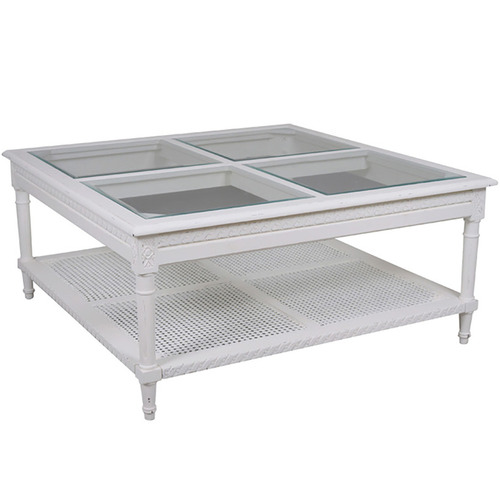 Elegant Designs Santa Maria Coffee Table White