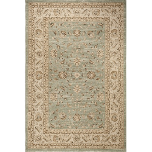 Lifestyle Floors Traditional Green Chobi Oriental Area Rug