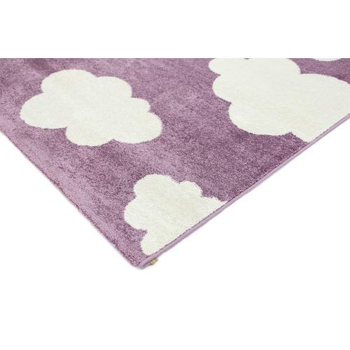 Lifestyle Floors Purple Piccolo Clouded Rug