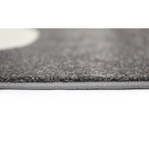 Lifestyle Floors Black Piccolo Clouded Rug
