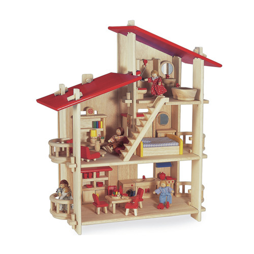 Blue Ribbon Multi Level Dollhouse