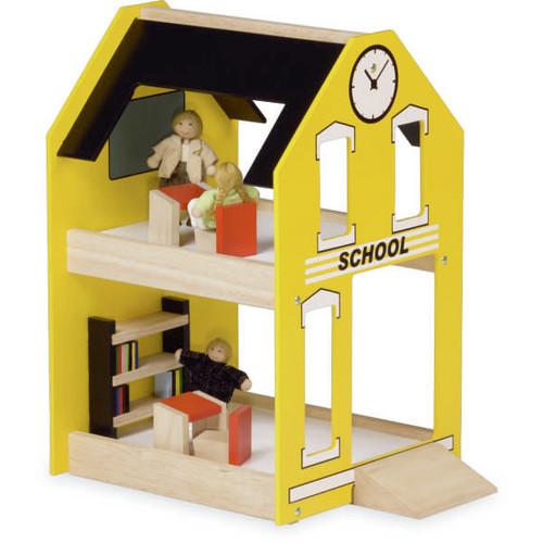 Blue Ribbon Wooden School Toy