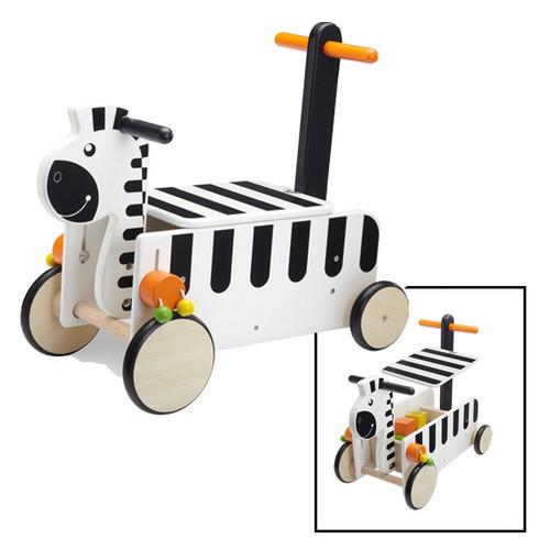Wonderworld Ride On Zebra