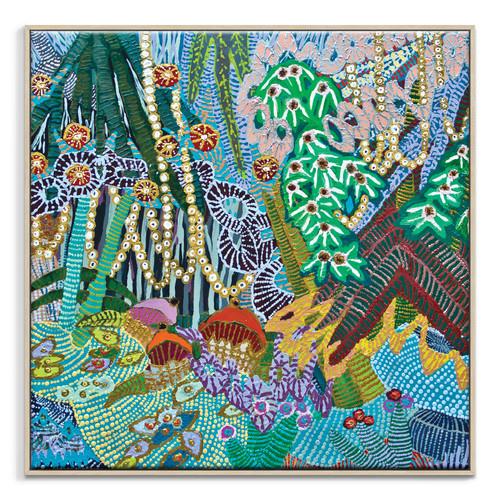"""""""In A Garden"""" Wall Art"""