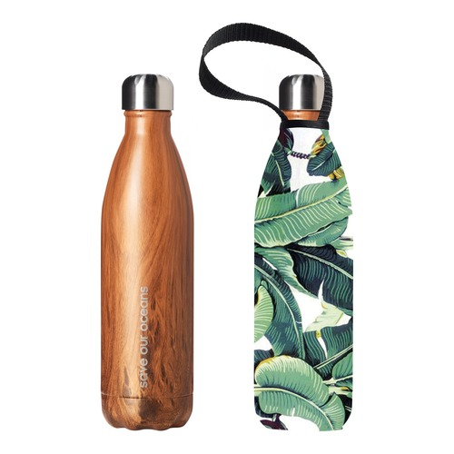 BBBYO 750ml Future Bottle & Banana Leaf Carry Cover