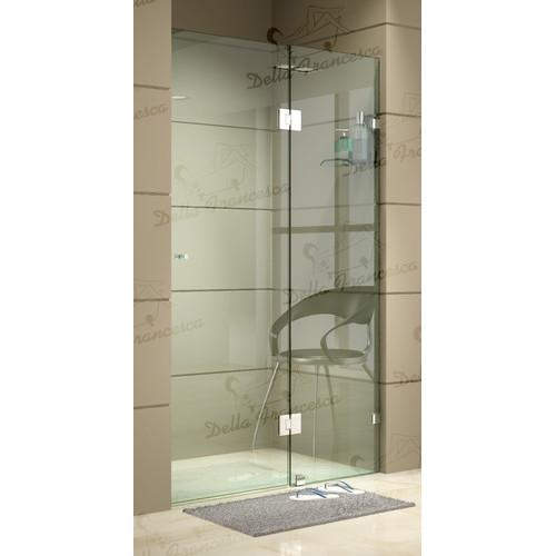 120cm x 200cm Wall to Wall Frameless Shower Screen   Temple & Webster