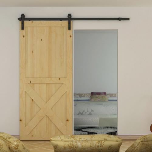 Essential Home Supply 180cm Sliding Barn Door Hardware